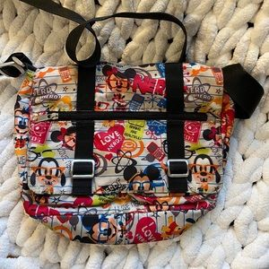 Disney Nerd Messenger Bag GUC
